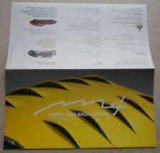 Museo Casa Enzo Ferrari 2012 Modena Folder V3 Brochure Prospekt Faltblatt press