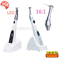 Sale ! Dental Mini Endo Motor Treatment / 16:1 Contra Angle LED /Handpiece Head