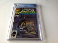 PUNISHER LIMITED SERIES 4 CGC 9.2 WHITE PGS STEVEN GRANT MIKE ZECK MARVEL COMICS