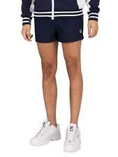 Fila Men's Hightide Terry Pocket Stripe Sweatshorts, Blue