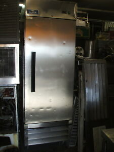 ACTRIC AIR ONE DOOR FREEZER.NEW COMP.S/S EXT.3 SHELVES,CASTERS, 900 OTHER ITEMS