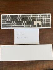 APPLE Magic Keyboard with Numeric Keypad US English - Silver Black FROM MAC PRO