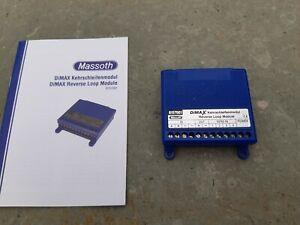 Massoth Dimax Kehrschleifenmodul 8157001 Gebraucht.