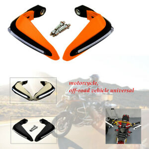 PP LED Lamp bar Motorcycle Hand Guards Windshield Rainproof Board Protection