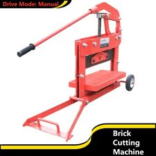 Manual Brick Cutting Machine Block Splitter Cutter Block Landscaping Paving Tool