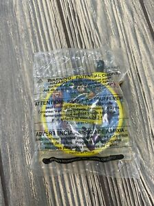 Wendy's Kids Meal Toy Teen Titans Watch Clock Pocket Time Keeper Yellow