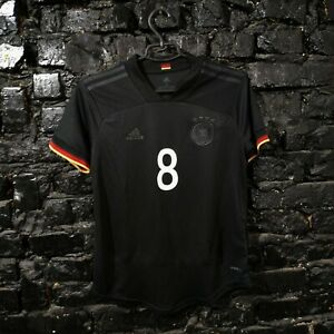 Kroos Germany Jersey Away football shirt 2020 - 2022 Adidas EH6115 Woman Size S
