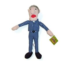 """14"""" TAG! Toy Factory Statler Gumpy Balcony Man The Muppets Plush Stuffed Animal"""