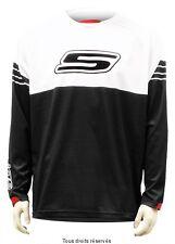Maillot motocross S-Line Blanc / Noir Taille XXXL