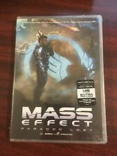 MASS EFFECT - Paragon Lost DVD New / SEALED 2012 W/ Vinyl Decal + Bonus Items