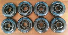 8 PACK 76mm 88a INLINE SKATE WHEELS ROLLERBLADE- FREE DELIVERY AUSTRALIA WIDE