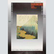 Surimono. Kostbare Japanische Farbholzschnitte. Ausstellung 1991