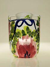 Marei Vase 9301 mit ungewöhnlicher, floraler Glasur