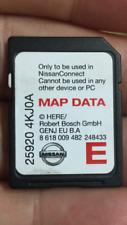 NISSAN CONNECT 3 SAT NAV NAVIGATION SD CARD EUROPE MAP 25920 4KJOA