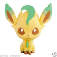 "Pokemon GO I Love Eevee 3"" LEAFEON Chibi Kyun Chara Figure Vol.2 Toy UFO Prize X"
