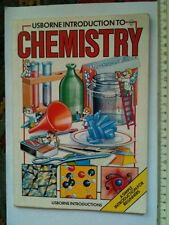 Usborne Introduction to CHEMISTRY: Jane Chisholm and Mary Johnson KS2 science