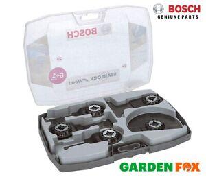 new BOSCH STARLOCK Multi Tool Wood Blade Set 7 Blades 2608664623 3165140954679