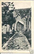 em 048 1935 Montese (Modena) Entrata all'antico Castello Viaggiata FP