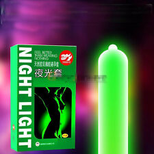 7pcs Night Light Adult G-Point Latex Condoms Luminous Condom Glow In The Dark