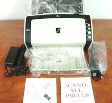 Fujitsu fi-6130 Document Scanner, copy of Dvd & Adobe 9 Refurbished ! Grade A