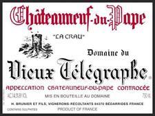 1bt Vieux Telegraphe Chateauneuf du Pape La Crau 2010