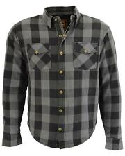 Milwaukee Performance Men's Aramid Checkered Plaid Biker Shirt - MPM1630