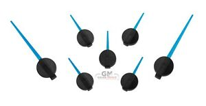Speedometer Gauge Cluster Needle Pointer Set GM 2003 to 2006 7 pc Blue New