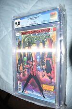 Uncanny Avengers #28 Legacy Lenticular cover CGC 9.8