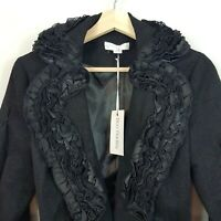 [ BOO RADLEY ] Womens Black Jacket NEW | Size XS or AU 8
