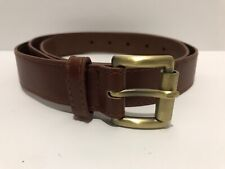 Michael KORS Men's Belt 50%PU50%PVC Brown Sz M