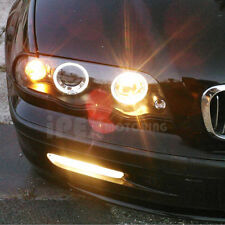 1999 2000 2001 BMW E46 323i 328i 330i Sedan 4Dr Halo Projector Headlights Black