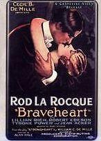 BRAVEHEART 1925 - DVD - Region Free - Sealed