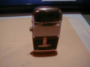 OLD SCRIPTO GOLD TONE SLIM LIGHTER NEW TRIMLINE PHONE NICE USED WORKING ORDER