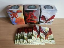 Ultra Pro Trading Card Deck Tins x 3 With 30 Card Sleeves