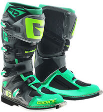 GAERNE SG12 2016 GREEN MX BOOTS, MOTOCROSS, ENDURO, TRAIL & OFF ROAD BOOTS.