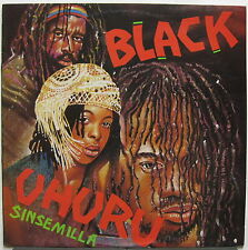 BLACK UHURU Sinsemilla 1980 AUSTRALIA Island Records TEST PRESSING LP Reggae