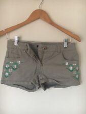 Shorts Micro Cotton Size 8 Stone H&M <T14304