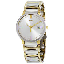 Rado Centrix Silver Dial Two-Tone Stainless Steel Mens Watch R30931103