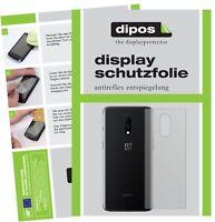 6x OnePlus 7 arrière Film de protection d'écran protecteur antireflet dipos