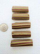 Striped Venetian Millefiori African Trade beads