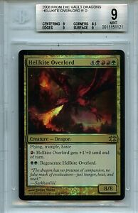 MTG Hellkite Overlord BGS 9.0 (9) Mint FTV Dragons Magic Foil Amricons 1121