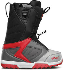 ThirtyTwo Men Groomer Ft Snowboard Boots (9) Grey / Black / Red