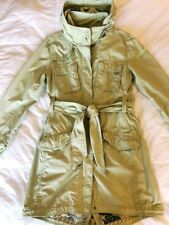 Mint green Tommy Hilfiger summer parkerjacket / raincoat, size 12 / 14