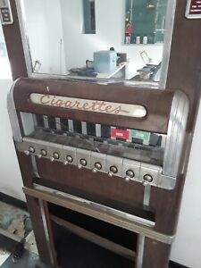 Vintage Coin Operated Cigarette Machine