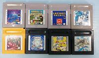 Nintendo Gameboy Lot 8 Game Boy Cartridges (Donkey Kong Land) TESTED, GUARANTEED