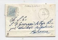 J720-SICILIA-CHIUSA SCLAFANI LETTERA X PALERMO 1868
