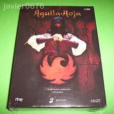 AGUILA ROJA PRIMERA TEMPORADA EN DVD PACK NUEVO PRECINTADO 5 DISCOS