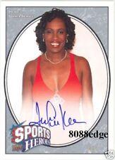 2008 UD SPORTS HEROES AUTO: JACKIE JOYNER-KERSEE #4/5 AUTOGRAPH OLYMPIC CHAMPION
