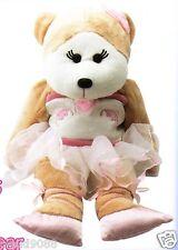 SKANSEN CUDDLY KID GISELLE THE BALLERINA BEAR Pink 40cm