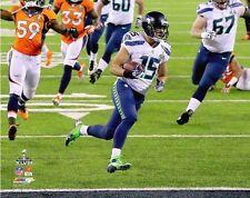 """2014 Super Bowl XLVIII JERMAINE KEARSE """"Touchdown!"""" Seattle Seahawks 8x10 photo"""
